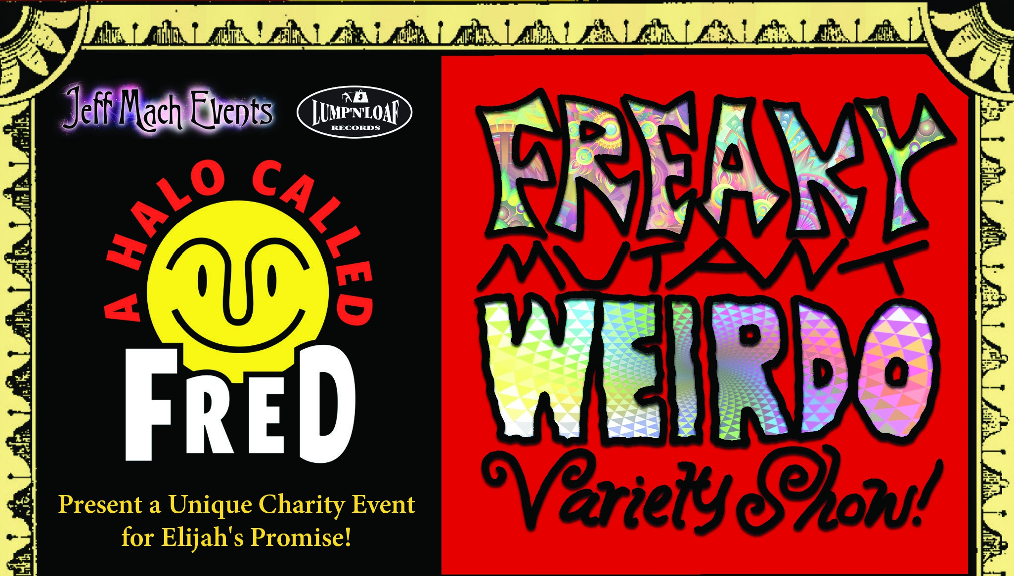 Get Freaky! Halo's Geverend on Freaky Mutant Weirdo Variety Show 2017!