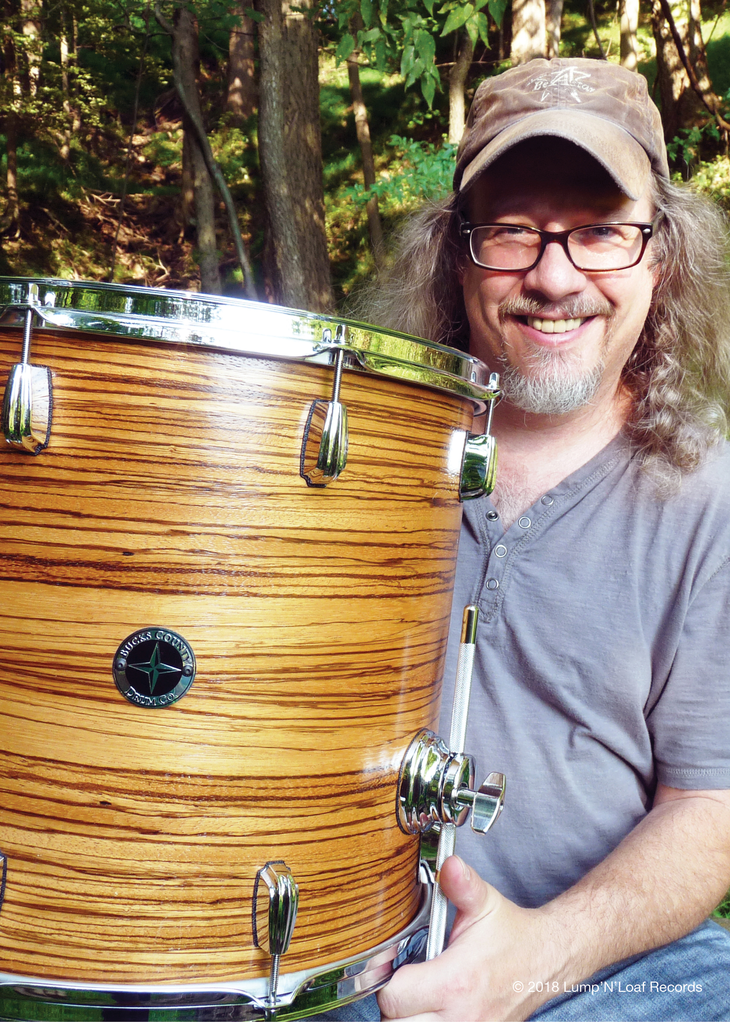 Trio of Madness Drummer Mike Wojik Endorsed by Bucks County Drum Company!